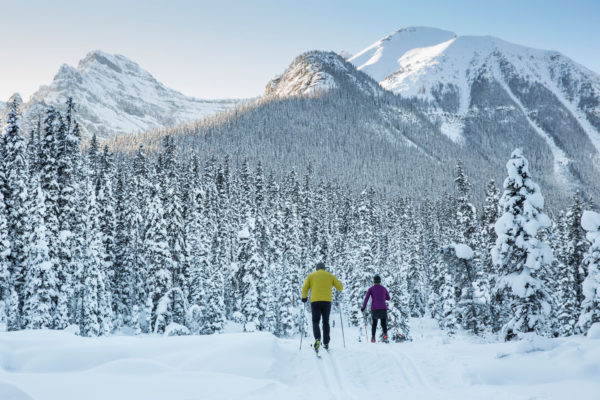 One of the best cross country ski destinations in North America, Lake Louise