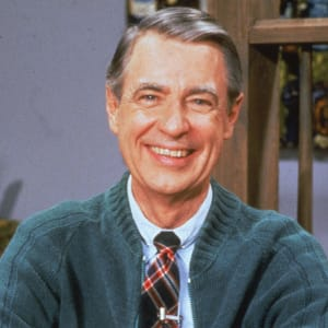 Mister Rogers: Fotos International/Courtesy of Getty Images